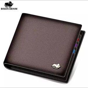 Genuine Leather Men's Wallet 10950
